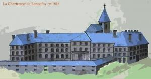 Chartreuse_de_Bonnefoy_en_1818