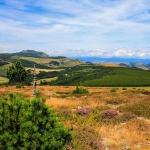 Massif du Mézenc vu depuis le Suc de Taupernas