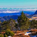 Le Mont Gerbier de Joncs, depuis la Lauzière
