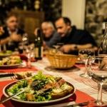 Diner festif d'une association béageoise